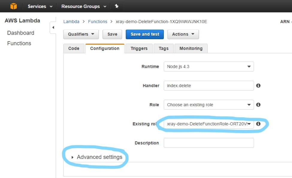 AWS Labs' Serverless Application Model