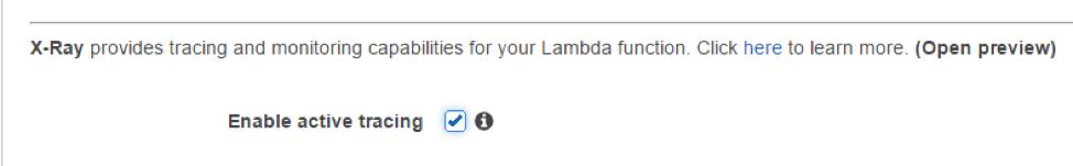 Lambda Configuration