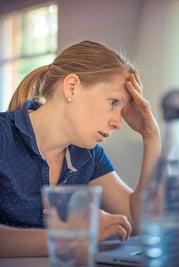 Annoyed Woman