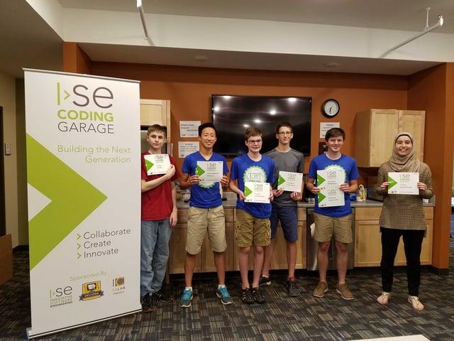 2016 ISE Coding Garage Winners