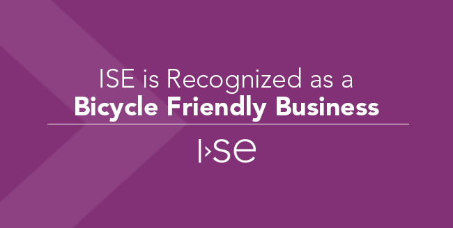 ISE is Recognized as a Bicycle Friendly Business
