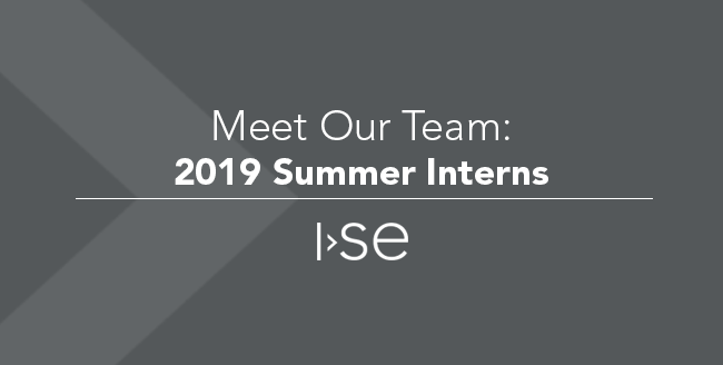 Meet Our Team: 2019 Summer Interns