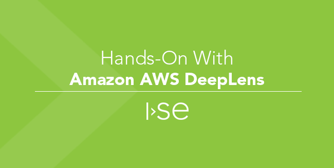 Hands-On With Amazon AWS DeepLens