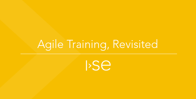 Agile Training, Revisited