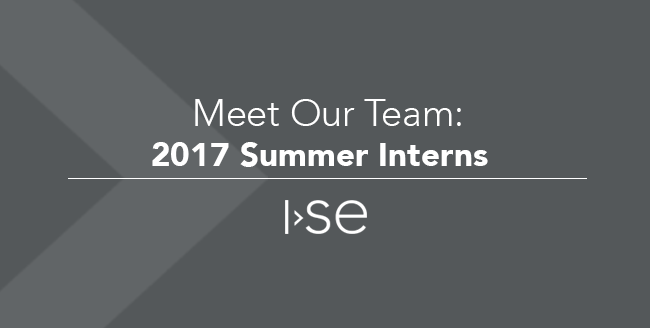 Meet Our Team: 2017 Summer Interns