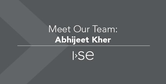 Meet Our Team: Abhijeet Kher