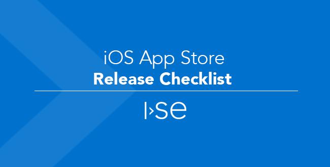 iOS App Store Release Checklist