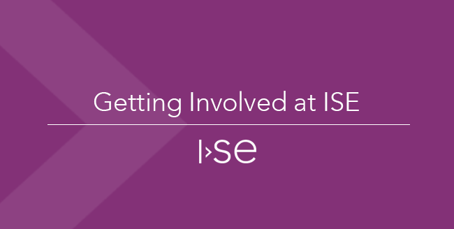 Getting Involved at ISE