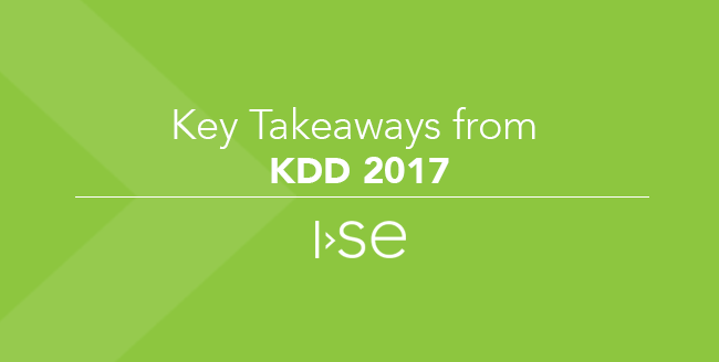 Key Takeaways from KDD 2017