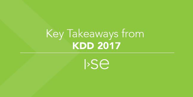 Key Takeaways from KDD 2017