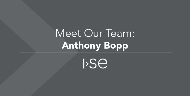 Meet Our Team: Anthony Bopp