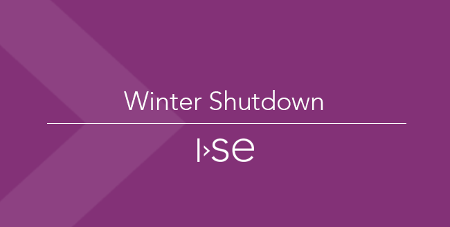 Winter Shutdown