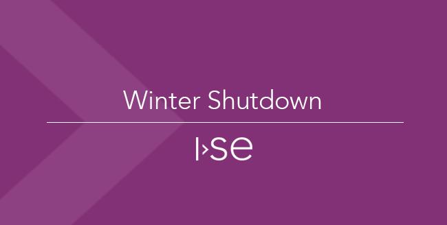 Winter Shutdown