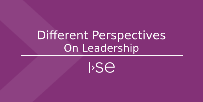 Different Perspectives on Leadership