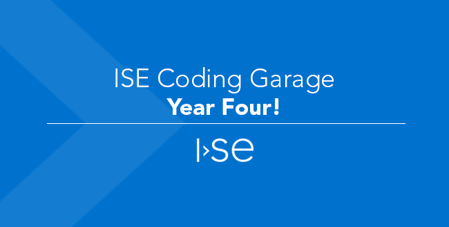ISE Coding Garage - Year Four!