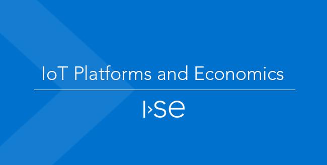 IoT Platforms and Economics
