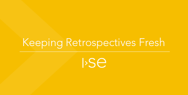 Keeping Retrospectives Fresh