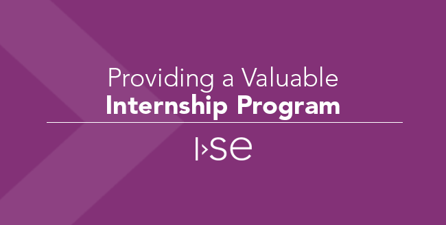 Providing a Valuable Internship Program