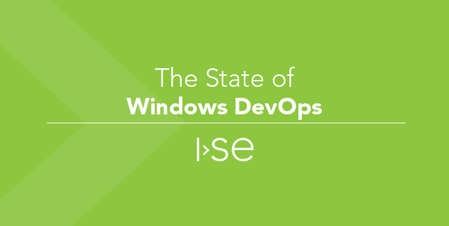 The State of Windows DevOps