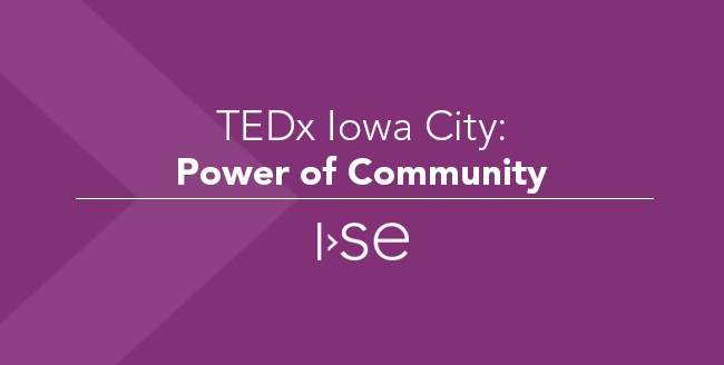 TEDx Iowa City: Power of Community
